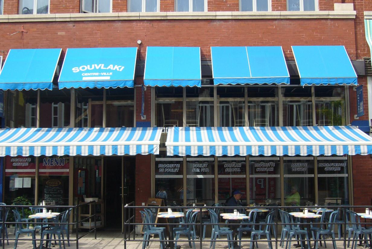 Restaurant Souvlaki Centre Ville Menu